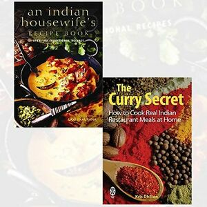 Indian cookbook collection 2 books set an indian housewifes recipe image is loading indian cookbook collection 2 books set an indian forumfinder Choice Image