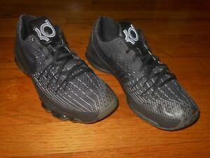 03806a23f14 Nike Zoom KD 8 Blackout basketball shoes Youth size 7 Y 768867-001 ...