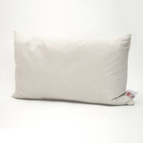 Duck Feather Cushion Pads Inner Insert Filler Pad Scatters All Sizes Hebden New