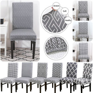 1-2PCS-Dining-Room-Chair-Cover-Removable-Washable-Stretch-Seat-Cover-Slipcovers