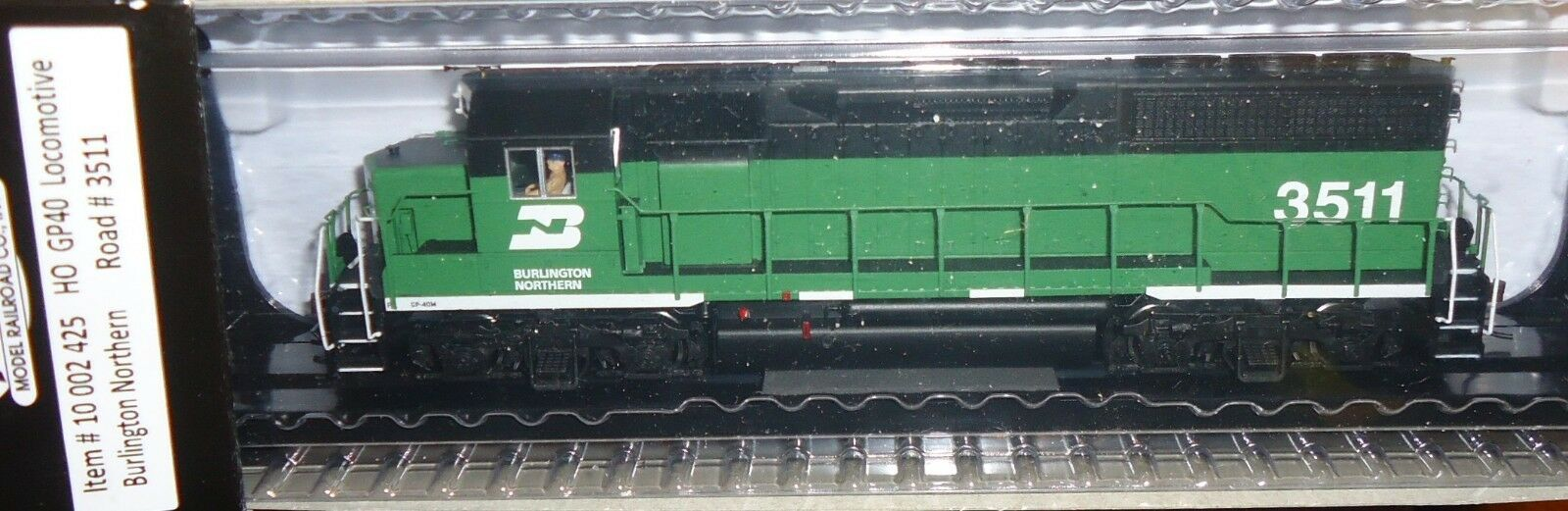 Escala Ho Atlas GP40 Burlington Northern Railroad DCC y Sonido 10002425