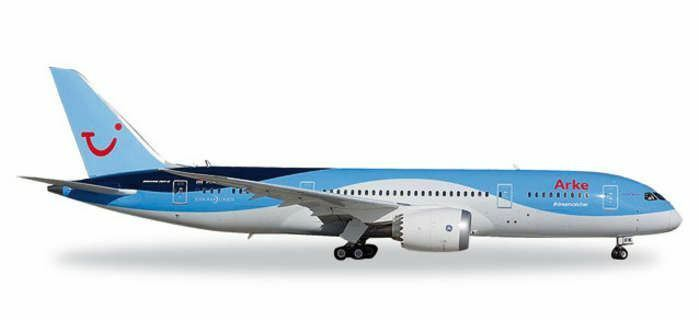 HE557122 Herpa Arke 787-8 1 200 Model Airplane