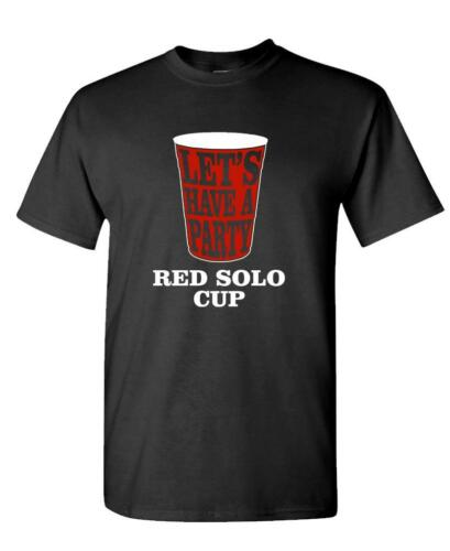 country music beer drink RED SOLO CUP Unisex Cotton T-Shirt Tee Shirt
