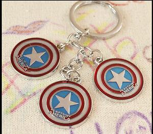 Lot Keychain Marvel America Key ring kids toy birthday gift