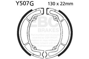 FIT-YAMAHA-IT-425-G-80-EBC-FRONT-GROOVED-BRAKE-SHOES