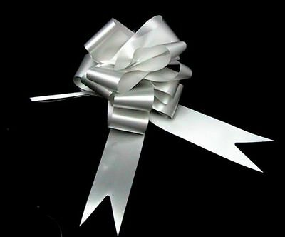 Wedding Car Ribbon Decoration Kit Bows & 7 Metre's Ribbon Pick Colour & Quantity