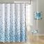 100-tissu-polyester-Design-Moderne-Lavable-Rideau-de-douche-avec-12-crochets miniature 26