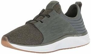 Skechers-Uomo-Nero-Skyline-Silsher-Sneaker-52967-OLV-SCARPA-MAN
