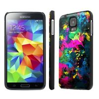 Samsung Galaxy S5 Slim Cover Case + Screen Protector - Street Paint