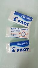3 Pcs X Pilot Foam Erasers Er-f6 Made in Japan Products