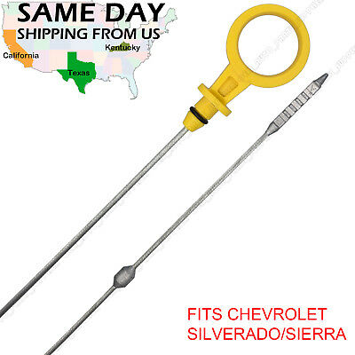 Sierra 2500//3500 6.6L Diesel Engine Oil level Dipstick Fit 2001-2006 Silverado