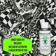 Hydrographic Film Water Transfer Hydro Dip 6oz Activator Ghost Rider Kit