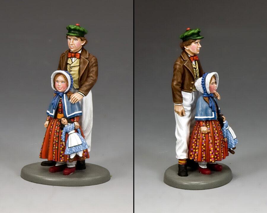 King & Country World Of Dickens WOD011 Jack & Sarah MIB