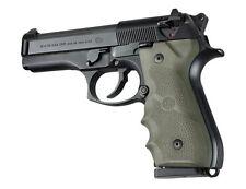 Hogue Beretta 92F, 92FS, 92SB. 96 & M-9 wrap around finger grip OD Green 92001