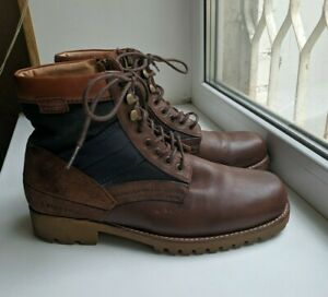 RRP$200 us8/ uk7 41 G-Star Raw GS11665 Depot Highland Leather Mens Boots Militar