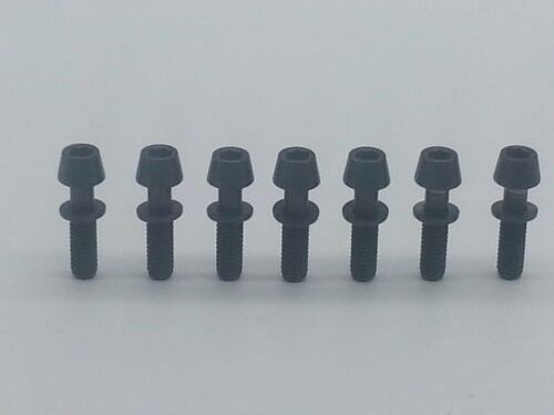 7pcs Titanium Ti Ritchey C260 Superlogic Carbon Matrix WCS Stem Screws Bolt