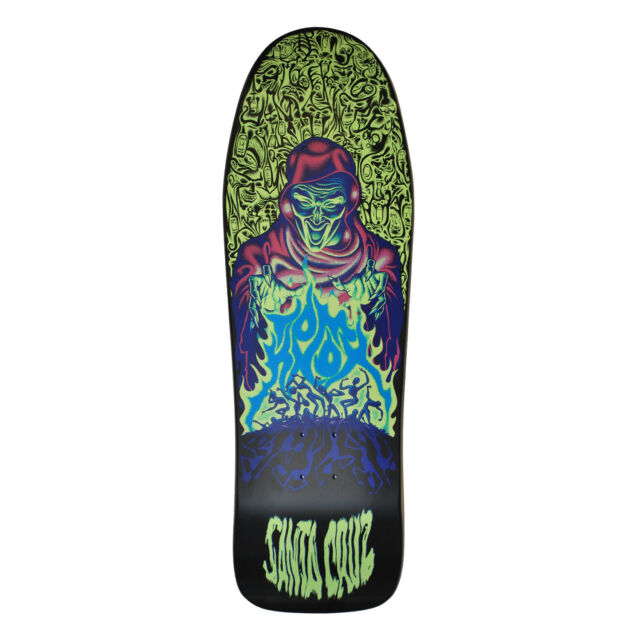 Santa Cruz Skateboard Deck Knox Firepit Old School Re-Issue Glow in The Dark