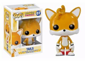 Funko Pop Games Sonic The Hedgehog 07 Tails Vaulted Vinyl Fast Post Ebay