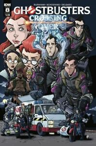 Vault 35 Ghostbusters Crossing Over #5 Cover A NM 2018 IDW