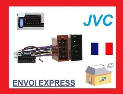 Kabel ISO für Autoradio JVC KD-LX333R KD-LX555R KD-LHX601 KD-NX901 KD-NX5000