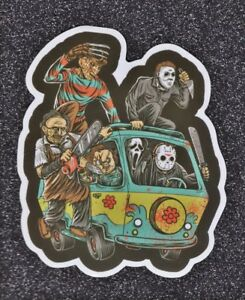 Freddy-Krueger-Ghostface-Jason-Chucky-etc-Vinyl-Sticker