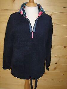 JOULES-Bonita-Soft-Fleece-Sweatshirt-Sz-8-10-RRP-49-95-FreeUKP-amp-P