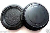 Pentax Japan Pk Mount Camera Body + Rear Lens Cap For Pentax K Mount Pk