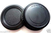 Pentax Japan Pk Mount Camera Body + Rear Lens Cap For Pentax K Mount Pk