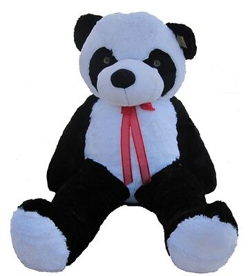 "Giant Huge Big 63"" Panda Bear Stuffed Plush Animal Toy Valentines Gift"