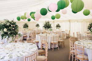 Mixed-Size-Round-Paper-Lanterns-Lamp-Shade-Wedding-Party-Green-Lime-Pink