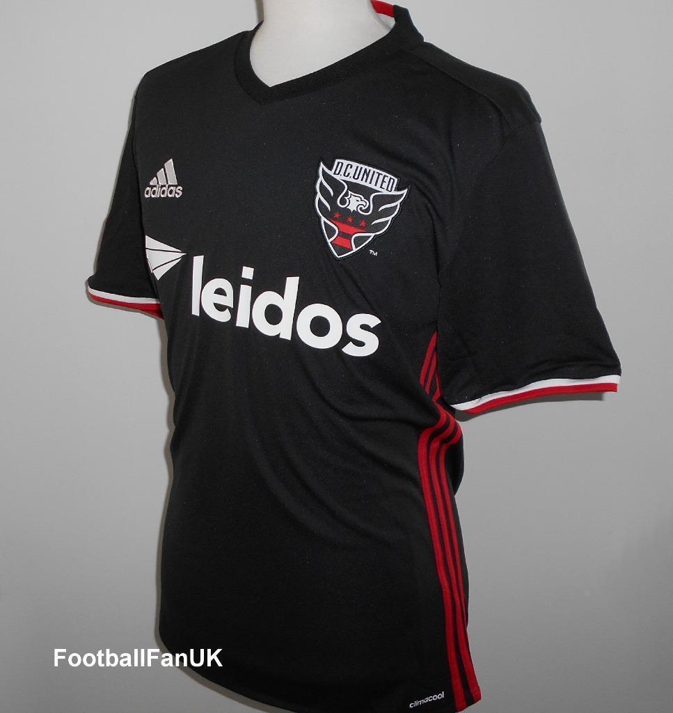 DC UNITED Adidas Official Home Shirt 2016-2017 NEW Soccer Jersey D.C.Utd