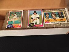 Complete Finish Your 1981 Topps Baseball Set - Pick 25
