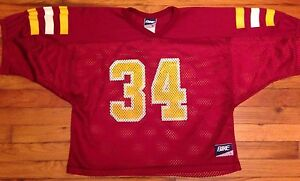 premium selection 8e442 31166 Details about Vintage 80s Jersey Bike USC Football OJ Simpson College  Arizona St Sports L
