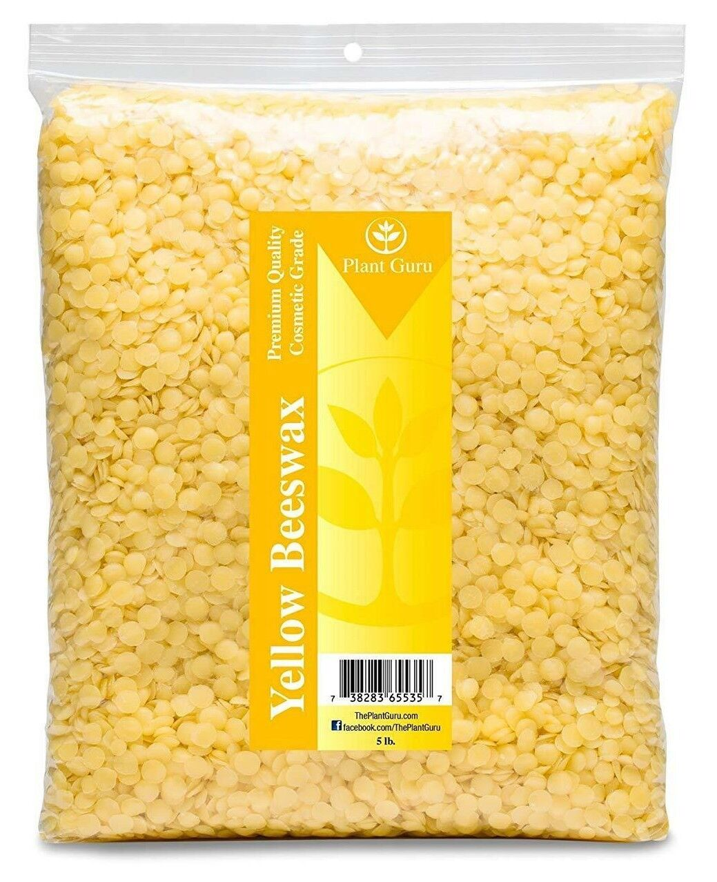5 lb Yellow Beeswax Pellets Bee Wax 100/% Natural Beads Granules Pearls on SALE