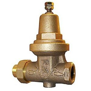 zurn 34 70 wilkins pressure reducing valve 3 4 single union ebay. Black Bedroom Furniture Sets. Home Design Ideas