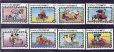 v2029 St.Vincent  & Die Grenadinen/ Comics-Autos  MiNr 679/86 **