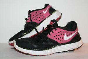 Absorber Analgésico torre  Nike Lunarswift 3+ Running Shoes, Black/Pink/White, Women's US ...