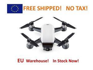 DJI Spark Mini Selfie Drone (Alpine White) FREE Shipping!! EU Warehouse!