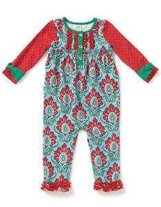 9b073a4cdda Matilda Jane BETTER NOT POUT Romper 3-6 Months Knit One-Piece Girl ...
