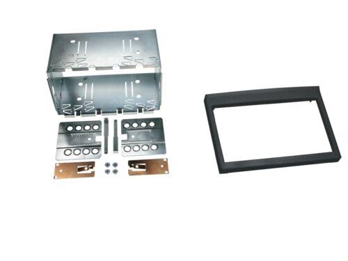 Porsche Boxster 986 02-04 2-din radio del coche Kit de integracion adaptador cable radio diafragma