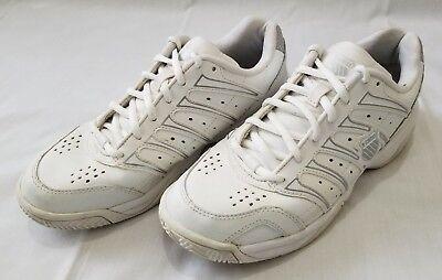 Womens Size 7 White Silver K-Swiss