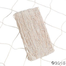 Cotton Natural Fish Nets 14 ft. x 4 ft. Net  - Party Accessory
