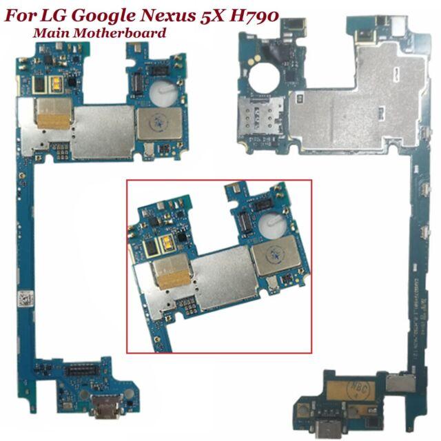 Main Motherboard Unlocked for LG Google Nexus 5X H790 2GB 32GB Logic board