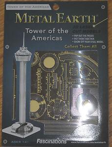 Tower of the Americas Metal Earth 3D Laser Cut Metal Model Fascinations