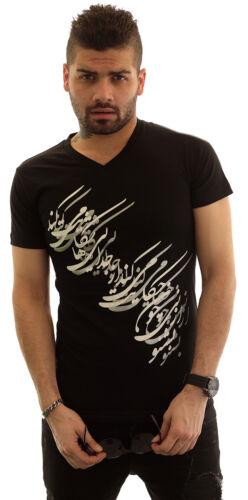 Men/'s Farsi Love poème T-Shirt Persian Cadeau PERSIA Art Farvahar Pahlavi Uni