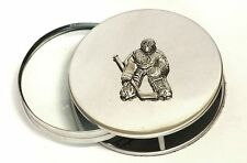 Ice Hockey Goalie Magnifying Reading Glass Desktop Office Keeper Tender NHL Gift