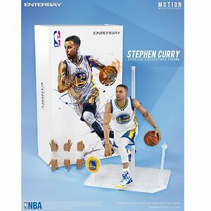 1/9 Scale ENTERBAY Motion Masterpiece NBA Collection Stephen Curry Action Figure