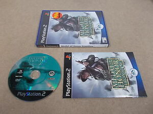 PS2-Playstation-2-Pal-Game-MEDAL-OF-HONOR-FRONTLINE-with-Box-Instructions