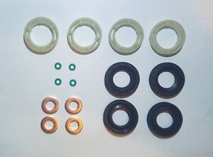 4 kit joints injecteurs peugeot citroen 1 6hdi ford 1 6. Black Bedroom Furniture Sets. Home Design Ideas