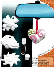 SEIFENGIEßFORM DUFTBAUM AUTO SOAP PRODUCTION MOULE AL AUGUA MOULD GLYCERINSEIFE